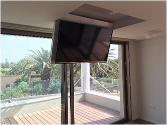 Fold Down Ceiling TV Lifts