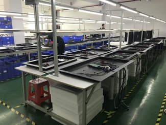Assembly line AVEL in China